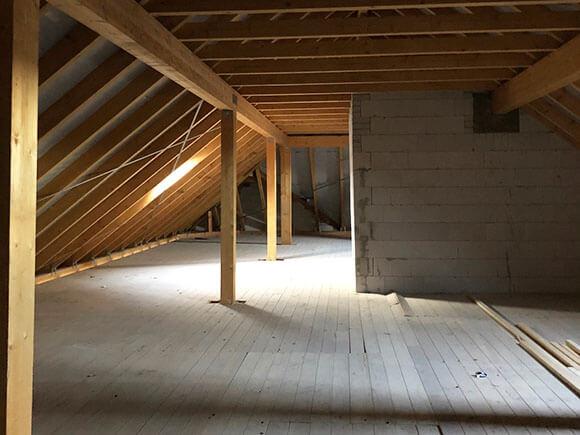 Neuer Dachstuhl Im Fliederhof 5