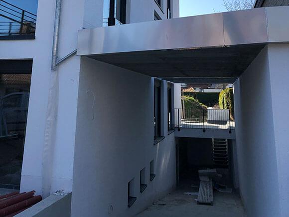 Tiefgarageneinfahrt Brakel Modern Living Apartments