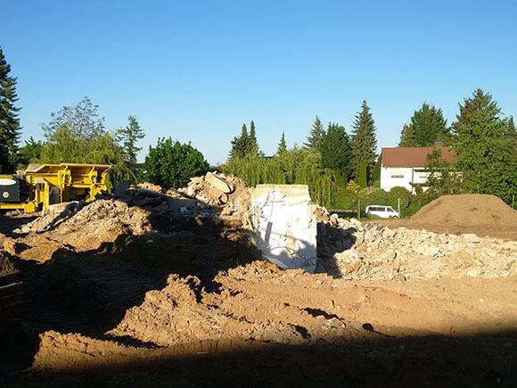 Abriss Roßdorf