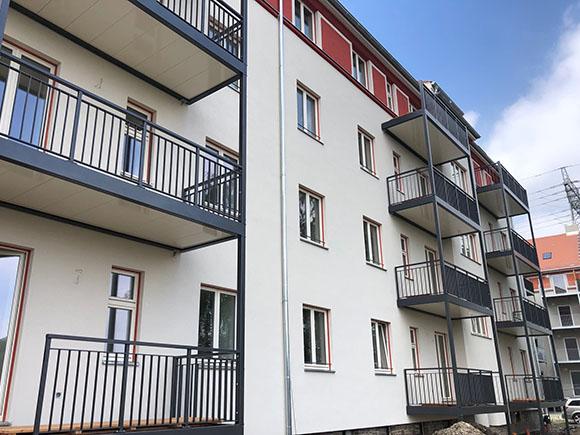 Hoffassade Haus 5