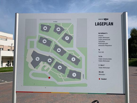 Lageplan Quartier Am Golfplatz