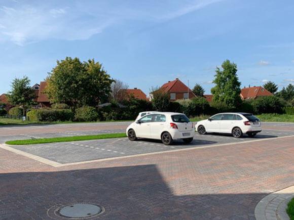 Parkplatz Pflegen Am Golfplatz