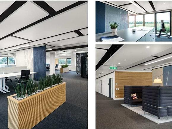 Entwurf Innenbereich Office Oberhaching