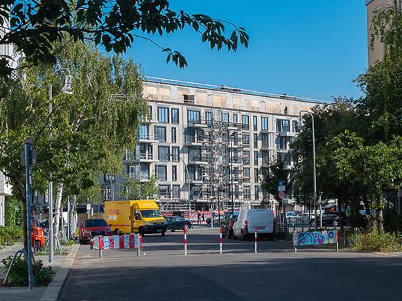 Schoenegarten Von Richtung Nollendorfplatz