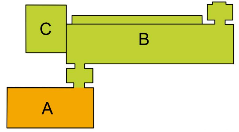 Aufteilungsplan Cube River 342