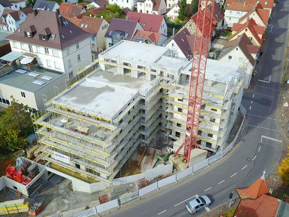 Luftansicht Wohnen Am Hillerplatz 092020