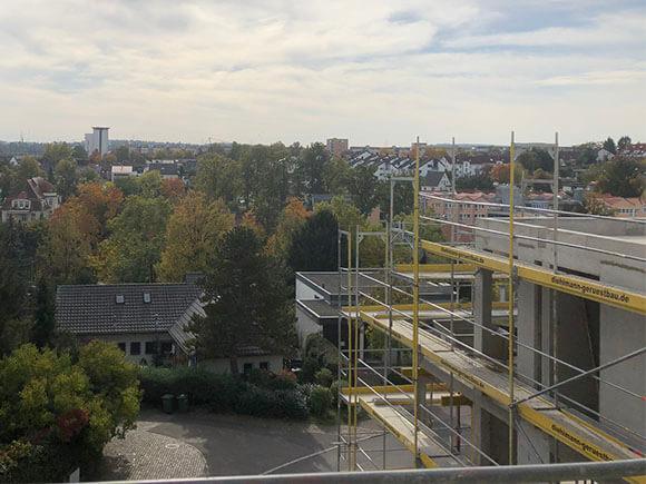 Ausblick Vom Dach Hillerplatz