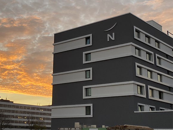 Fassade Novotel