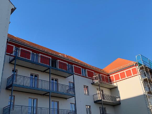 Fassade Fliederhof 11