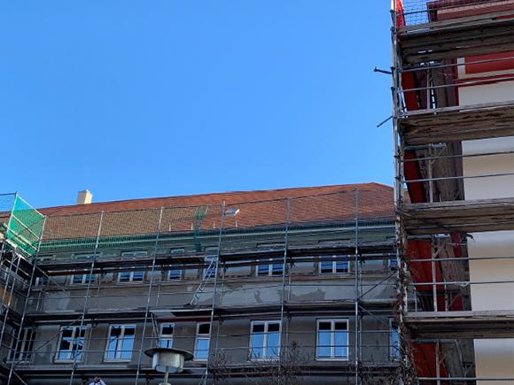 Fassade Fliederhof 9