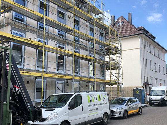 Fassade Hillerplatz 042021