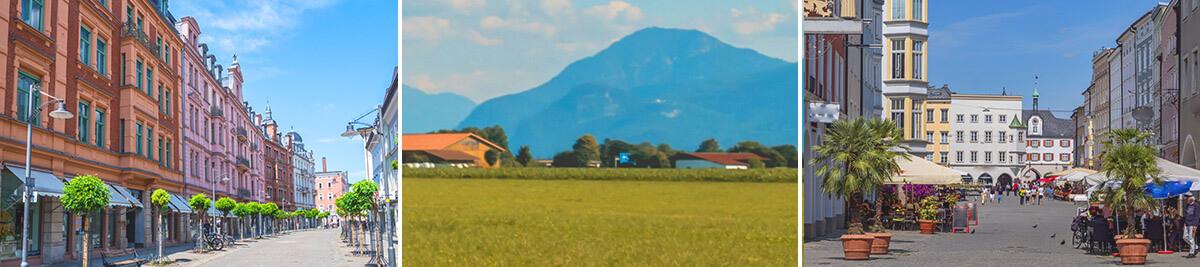 Landschaft Rosenheim