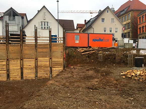 Baugrube Wohnen Am Hillerplatz 2