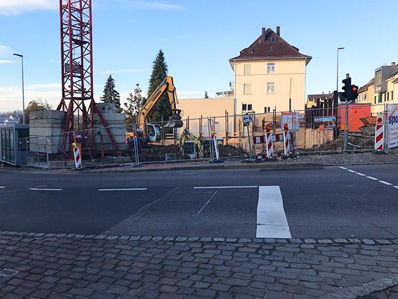 Baukran Wohnen Am Hillerplatz