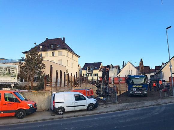 Bagger Wohnen Am Hillerplatz